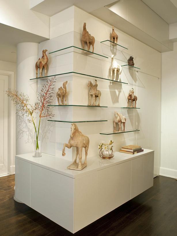фото стеклянных полочек под статуэтки мастер-классе открытки