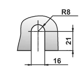 Коннектор хром