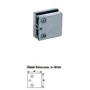 Коннектор для стекла 6-8 мм к трубе