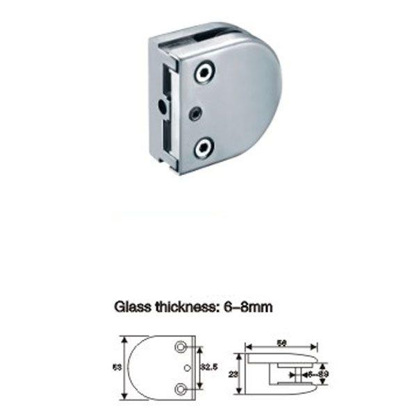 Коннектор для стекла к стене 6-8 мм