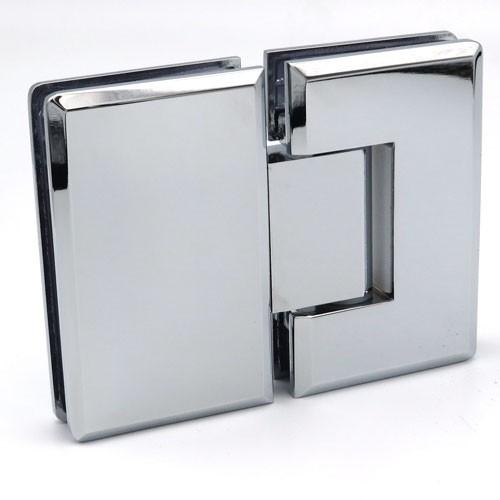 Петля стекло - стекло угол поворота 180 гр бронза