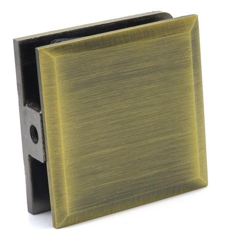 Коннектор стена-стекло Бронза