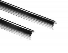 Профиль п - образный для стекла 8 мм (13х11,5х13) L=2440mm