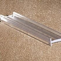 Профиль самоклеющийся 111-8-180A стекло 8мм длина 3 метра