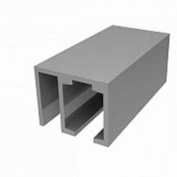 Трек алюминиевый с держателем неподвижной панели для система лаура (цена за 2 метра)