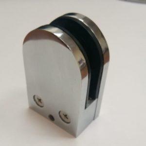 Коннектор стена-стекло высота 65 мм, ширина 43 мм 10-12 мм