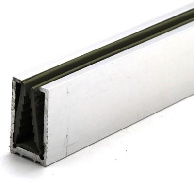 Профиль стекло-стена 2200 мм (БЕЗ УПЛОТНИТЕЛЯ)