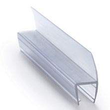 Профиль уплотнительный стекло 8мм 2.5 метра, ус 25мм
