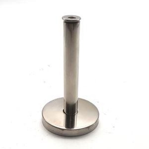 Стойка по коннектор 80мм матовый хром