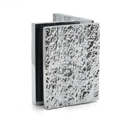 Коннектор стена-стекло 90 гр хром