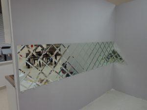 Зеркальная плитка - монтаж